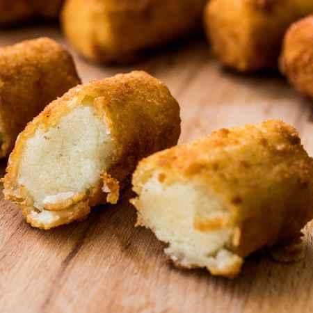 Frittelle di patate e formaggio
