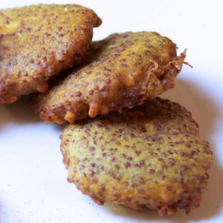 Frittelle di quinoa