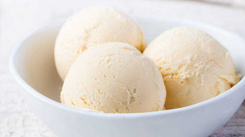 Gelato alla vaniglia