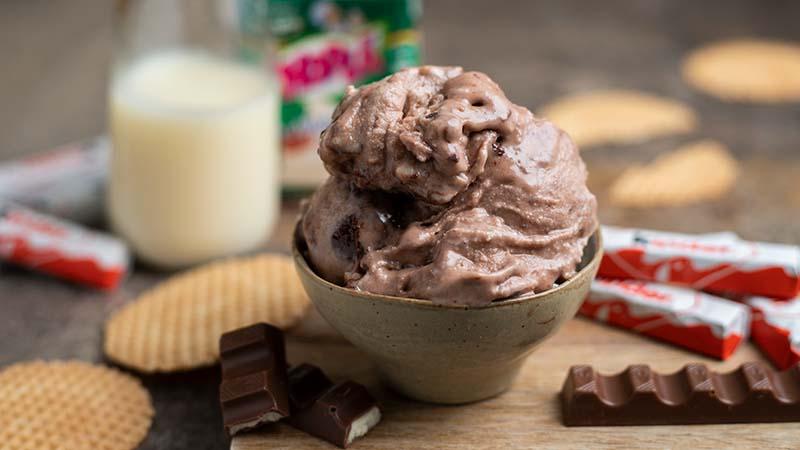 Gelato Kinder cioccolato