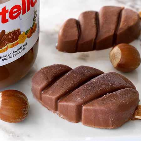 Ghiaccioli alla Nutella