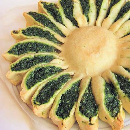 Girasole di spinaci