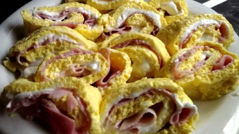 Ricetta Omelette Bimby Tm5.Girelle Di Frittata Ricette Bimby