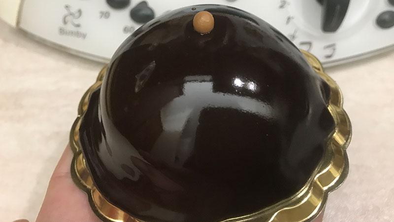 Glassa a specchio al cacao