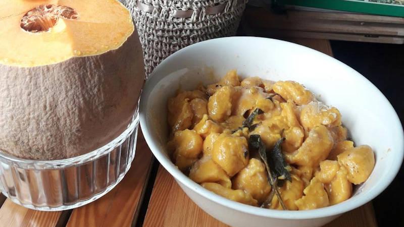 Ricetta Gnocchi In Colla.Gnocchi Con La Zucca Al Cucchiaio Ricette Bimby
