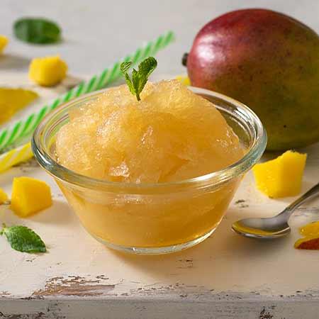 Granita al mango veloce