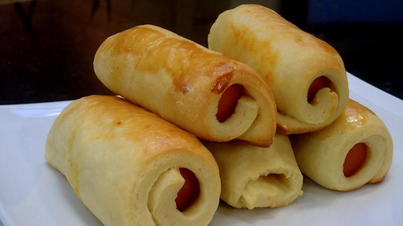 Hot dog al forno