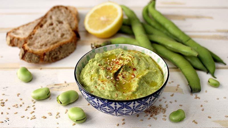 Hummus di fave