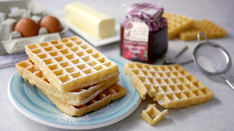 Ricetta Wafer Con Bimby.Impasto Per Waffle Veloce Ricette Bimby