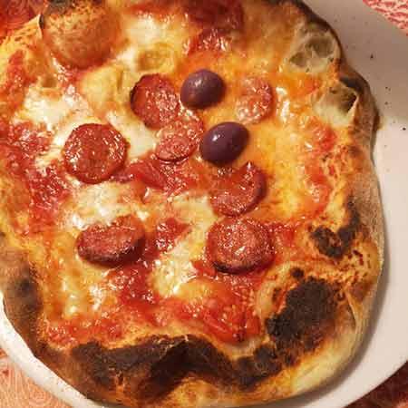 Impasto pizza napoletana per fornetto