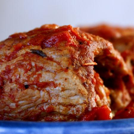 Involtini con pancetta