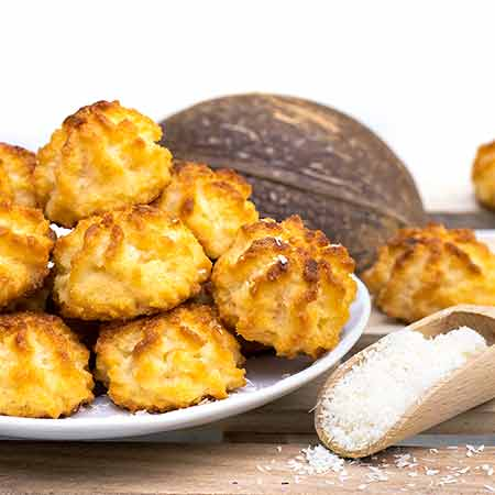 Kokosmakronen (dolcetti al cocco tedeschi)