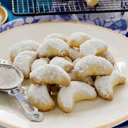Kourabiedes (biscotti greci)