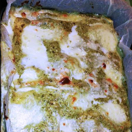 Lasagne pesto e besciamella