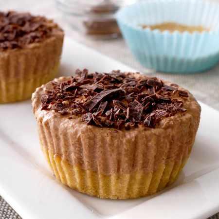 Mini cheesecake alla Nutella
