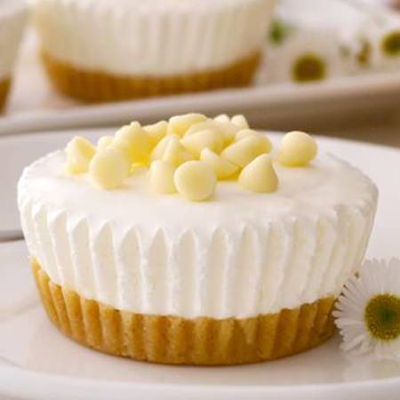 Mini cheesecake alla panna