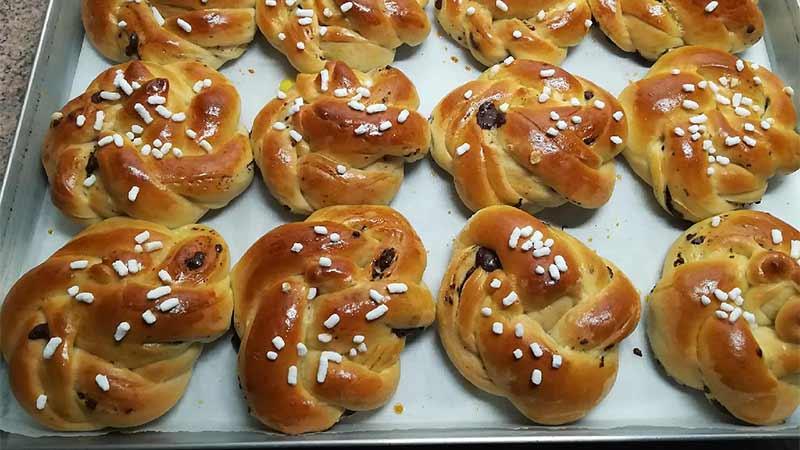 Mini pan brioche