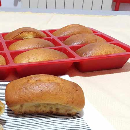 Mini plumcake con farina tipo 1