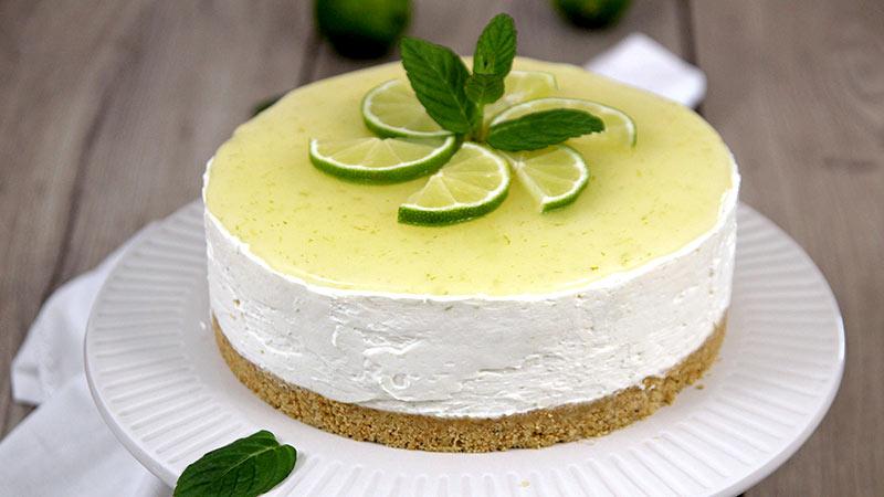 Mojito cheesecake