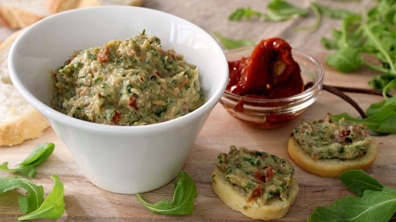 Mousse di prosciutto e pomodori secchi