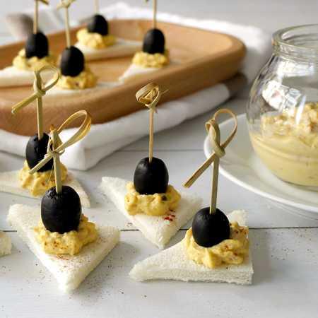 Mousse di tonno e olive