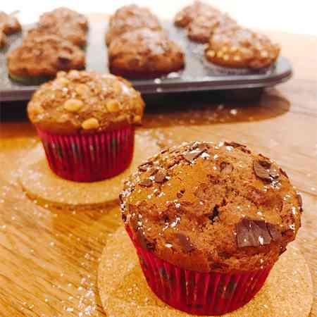 Muffin al cioccolato veloci
