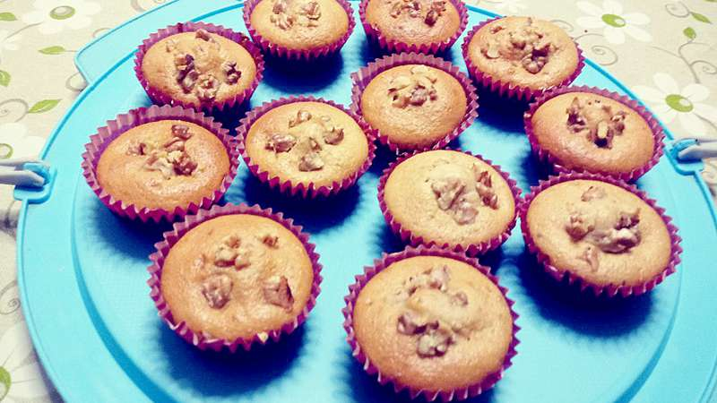 Muffin alle noci