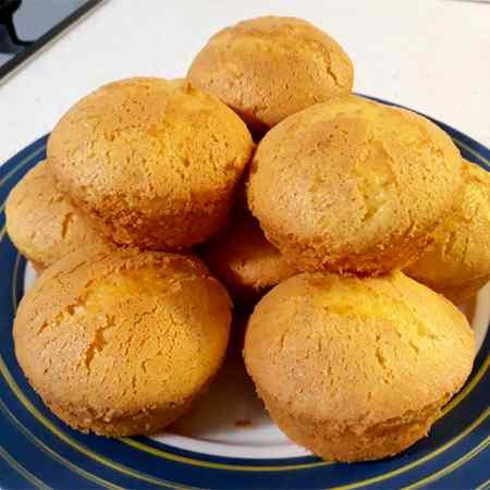 Muffin allo yogurt senza glutine