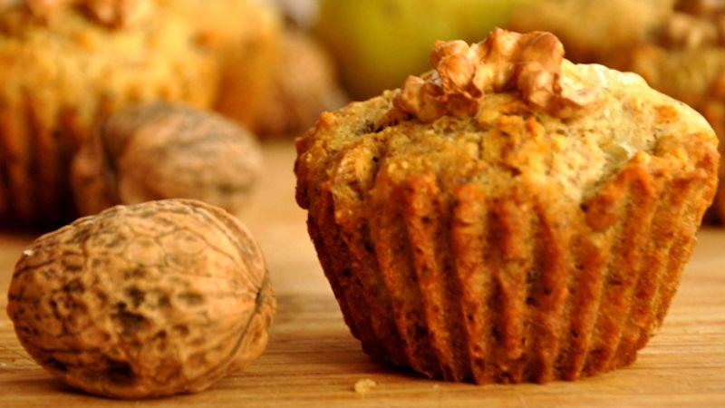 Muffin cioccolato e noci