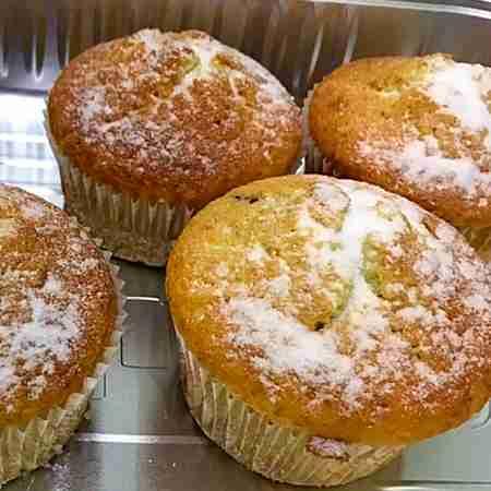Muffin con crema di Pan di stelle