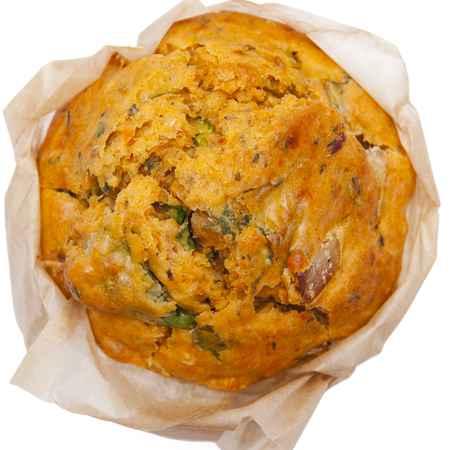 Muffin con erbe e formaggio