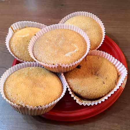 Muffin con farina di riso e Nutkao