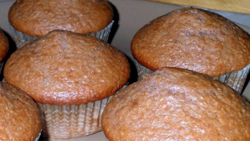 Muffin con grano saraceno vegan