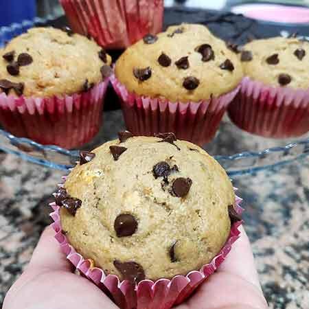 Muffin con omogeneizzati