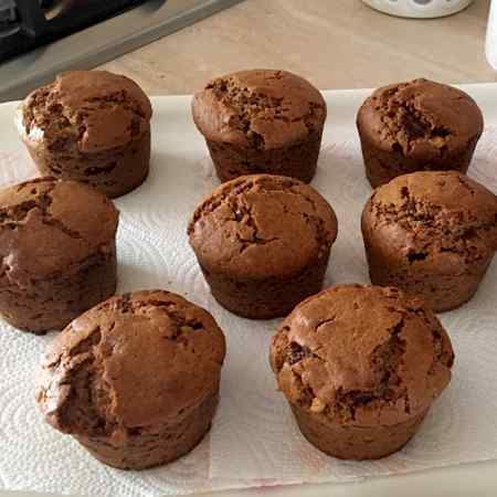 Muffin con panettone