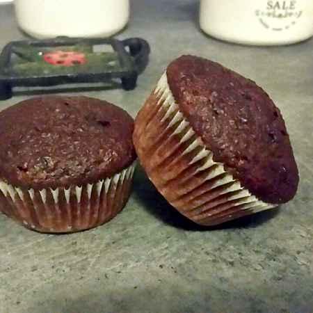 Muffin dolci alla rapa rossa