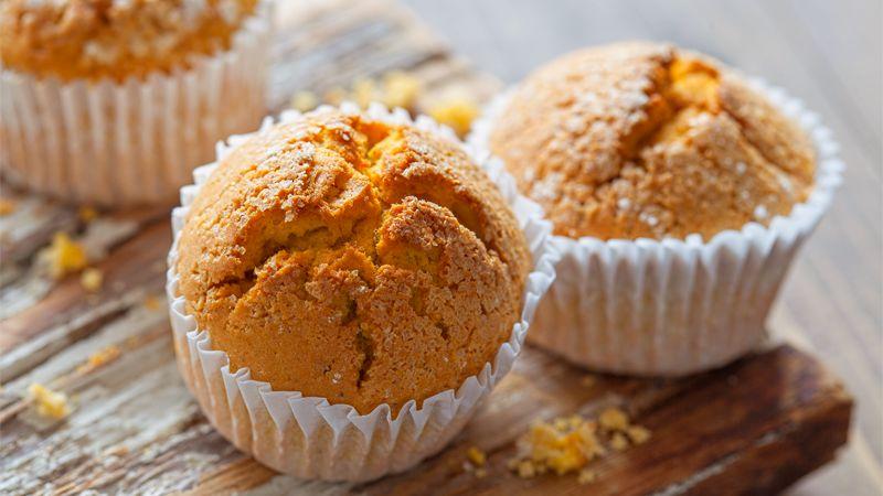 Muffin dolci di polenta