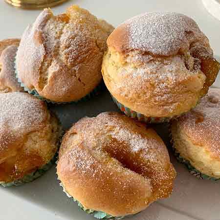 Muffin ripieni senza burro