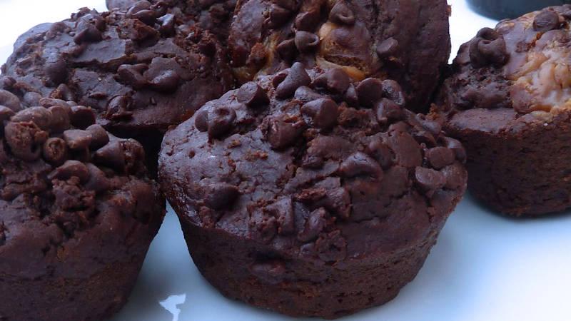 Muffin segale e cioccolato