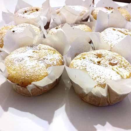 Muffin soffici mela e arancia