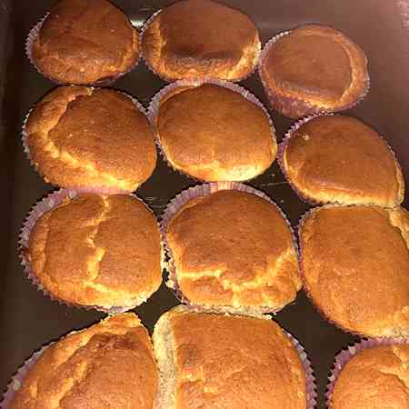 Muffin yogurt e banane