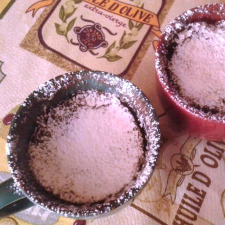 Mug cake in tazza al microonde
