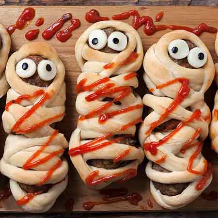 Mummie di Halloween