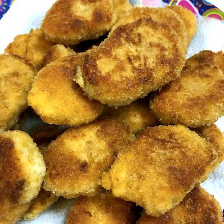 Nuggets di salmone