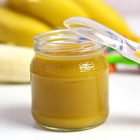 Omogeneizzato di banana e melone