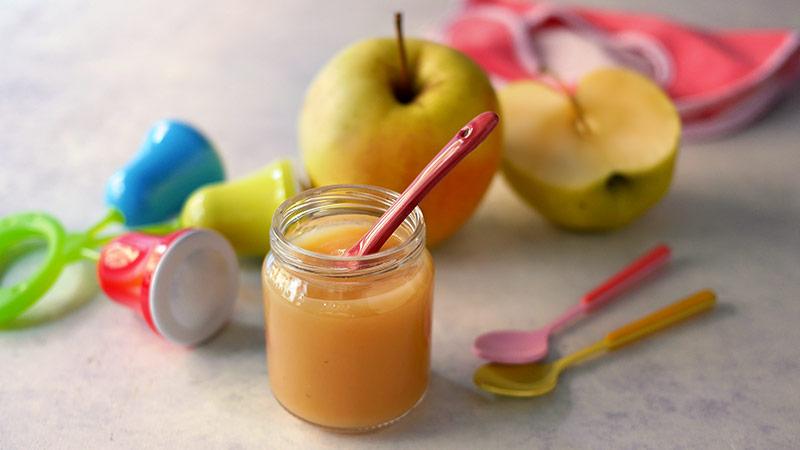 Omogeneizzato di mela