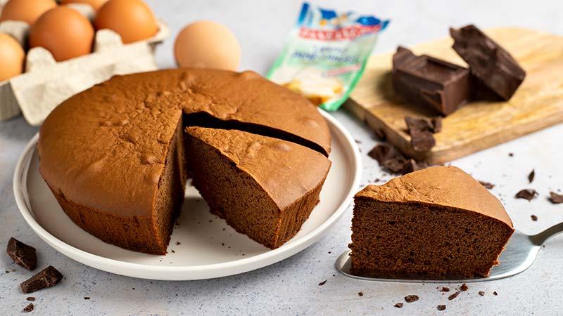 Ricetta Pan Di Spagna Al Cioccolato Bimby.Pan Di Spagna Al Cioccolato Ricette Bimby
