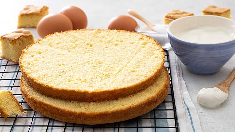 Pan di Spagna alla panna (Molly Cake)