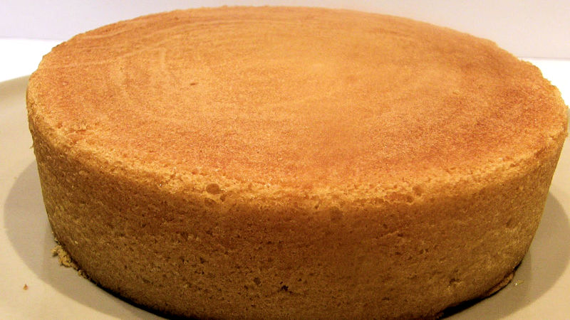 Ricetta Pan Di Spagna Alto E Soffice Con Lievito.Pan Di Spagna Morbido Ricette Bimby