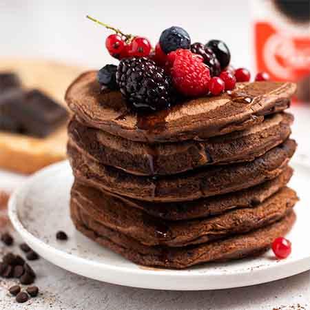 Pancake al cioccolato